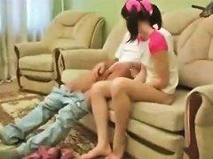Seductive Teen Slut Hardly Pounded