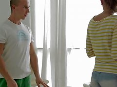 Sweetie Tries Lovemaking With Handsome Masseur