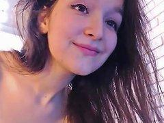 Cute Teen Step Daughter Strips On Webcam
