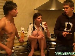 Real Euro Teen Analfucked Until Creampied