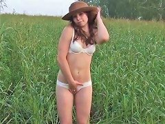 Cute Fresh Young Hottie Is So Damn Delicious Outdoors