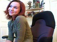 Annabelle Lee Films A Hot Webcam Video In Amateur Clip