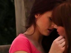 Angelic Hot Lesbians Licking Pussies
