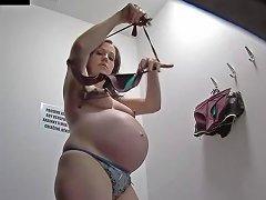 Pregnant Girl Spy Cam