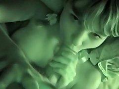 Pov Night Vision Blowjob With Girlfriend