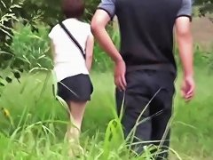 Japanese Ho Pees In Park