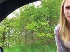 Stranded Euro Teens Outdoor POV Fuck
