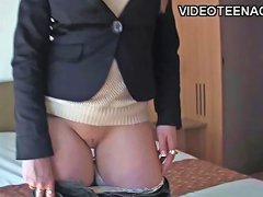 18 Years Old Blonde Teen First Porno Casting Free Porn 4c