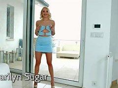 Marilyn Sugar Sensual Babe Porn Video