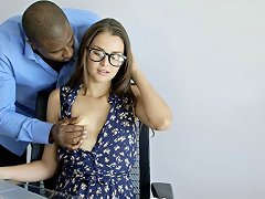 Cheating Gf Allie Haze Loves Interracial Anal Sex