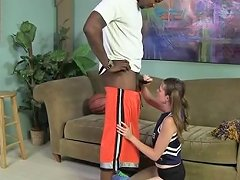 White Cheerleader Takes The Black Cock Porn Be Xhamster